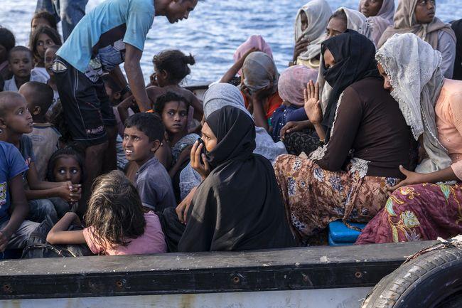 25 Anak Rohingya di Aceh Tidak Didampingi Orang Tua